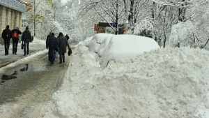 Из-за снегопада херсонские рынки испытывают дефицит продуктов