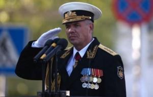 Печерский суд одобрил задержание командующего Черноморским флотом России
