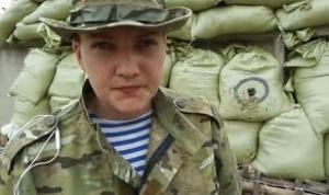 Савченко назвала имена своих похитителей