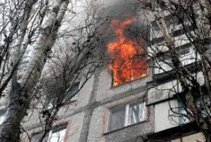 В Николаевской области возник пожар в многоэтажке: эвакуированы семеро человек