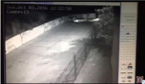 В сети появилось видео, на котором запечатлено покушение на херсонского кандидата в нардепы