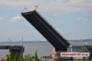 Ко дню ВМС в Николаев зашли военные корабли