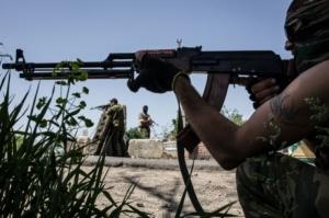 Ночью боевики атаковали опорный пункт в Авдеевке и отступили с потерями - штаб