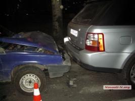 В Николаеве пьяный водитель устроил ДТП