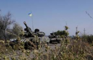 Вчера на Артемовском направлении произошло боестолкновение – штаб АТО