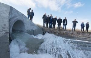 В пересыхающий Куяльницкий лиман начала поступать морская вода