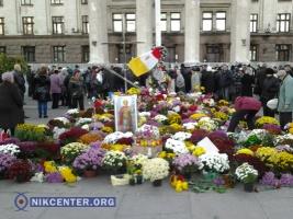 Полгода одесской трагедии: на Куликовом поле вновь бездействовала милиция