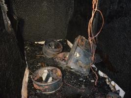 В Николаеве произошел пожар на предприятии по производству макаронных изделий