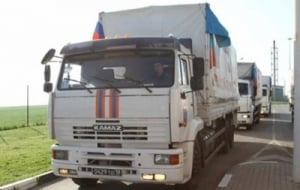 На Донбасс движется 37-й «гумконвой» из России