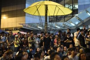 В Гонконге прошли новые акции протеста