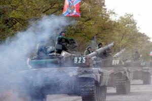 Боевики «ДНР» стягивают к Донецку тяжелое вооружение под видом подготовки к параду - Тымчук