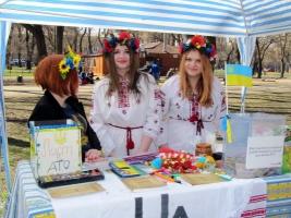 На одесской ярмарке собирают деньги для добровольческих батальонов