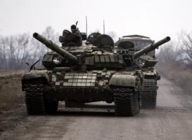 Ночью боевики из гранатометов хаотично обстреливали украинских военных