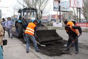Николаевские власти отчитались о проделанном ремонте дорог