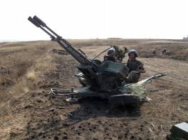В Николаевской области проходят крупные военные учения