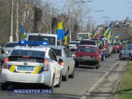 В Одессе активисты «прокурорского Майдана» провели автопробег и готовятся пикетировать мэрию