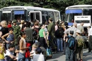 В обстрелянных селах Донецкой области объявлена эвакуация населения