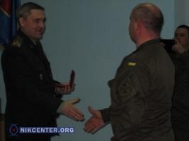 Одесских нацгвардейцев наградили за военную службу