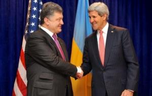 Порошенко и Керри во время встречи в Мюнхене обсудили ситуацию на Донбассе и пути деоккупации Крыма