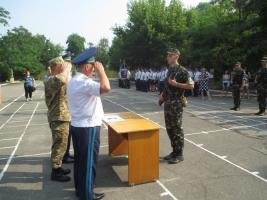 В Николаеве присягнули на верность Украине будущие офицеры запаса