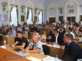 Депутаты распустили исполком Николаевского горсовета
