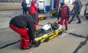 В одесскую больницу доставили 15 раненых бойцов АТО