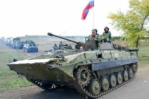 Возле Новоазовска через российско-украинскую границу прорвалось около 30 российских танков