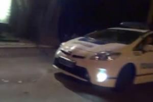 Одесские патрульные устроили гонки по ночному городу (ВИДЕО)