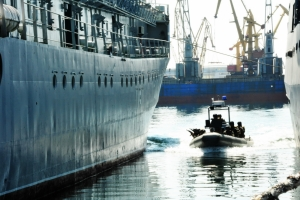 Николаевские морпехи захватили судно в рамках учений «Си Бриз-2016» (ФОТО)