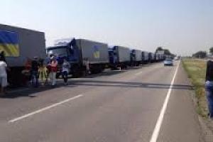 Жители Горловки так и не дождались продуктов питания – террористы расстреляли колонну гуманитарной помощи