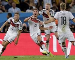 Сборная Германии по футболу завоевала звание чемпиона мира