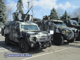 В Одессе прошла выставка оружия и техники из АТО