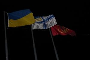 Николаев встретил морпехов, вернувшихся из АТО