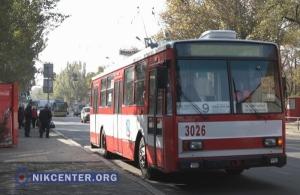 Из-за нехватки водителей в Николаеве простаивает почти 20 троллейбусов