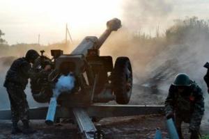 Ночью боевики дважды пытались прорвать позиции сил АТО - штаб