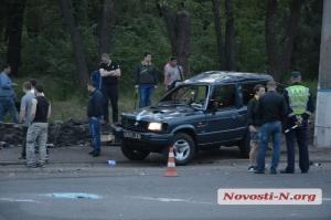 В Николаеве в ДТП погиб военный, армейский автомобиль восстановлению не подлежит (видео, фото)
