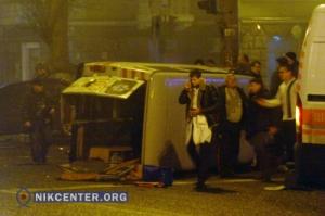 «Скорая», пострадавшая в ДТП в центре Херсона, не подлежит восстановлению