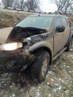 Николаевский волонтер попал в аварию