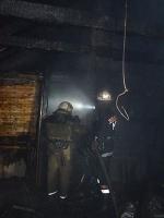 В Николаеве в коттедже бывшего прокурора произошел пожар