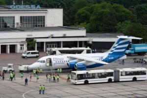 Одесский аэропорт на треть увеличил пассажиропоток