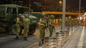 В Турции введено военное положение. Ограничен доступ в Интернет