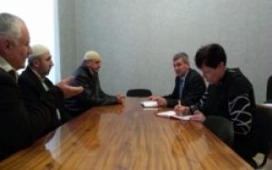 На Херсонщине представители райгосадминистрации обсуждали вопросы сосуществования с турецкой общиной