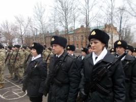 В Николаеве приняли присягу моряки Учебного центра ВМС