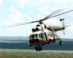 В Сирии сбит российский вертолет Ми-8
