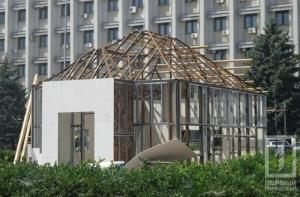 Труханов недоволен Дворцом быстрых бракосочетаний, который строят в Одессе