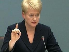 Президент Литвы в понедельник посетит Киев