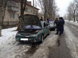 На Николаевщине ГАИ остановили автомобиль, перевозивший боеприпасы