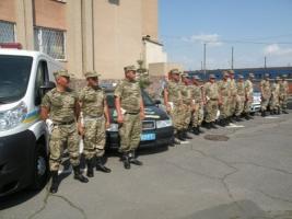 Сотрудники Николаевской ГАИ вернулись из зоны АТО