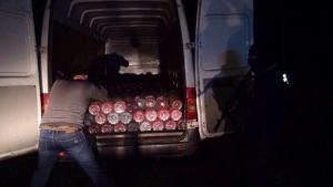 В Одесской области СБУ изъяла крупную партию контрабандного спирта и сигарет