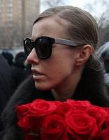 На похоронах российского оппозиционера Немцова Ксении Собчак пригрозили убийством